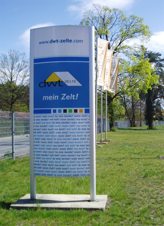 Zelte Aus Niesky : Steinborn werbung aus niesky schildersysteme für